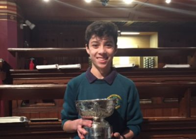 Faolan Ly Junior Organ Winner 2016