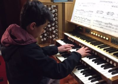 Faolan Ly rehearsing for Feis 2016