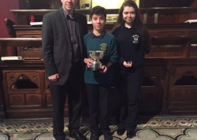Junior Organ Winners Feis Ceoil 2016