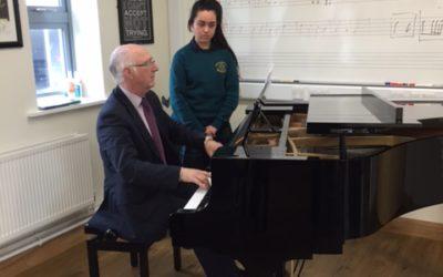 Welcome Back… Mr Padhraic O'Cuinneagain as Head of Piano Studies