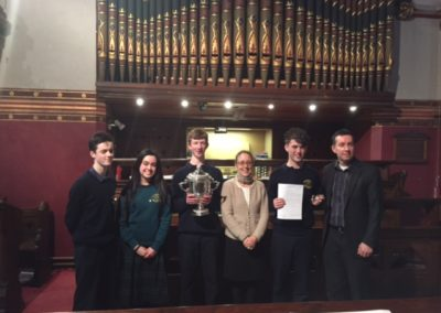 Our Senior Organ Competitors 2016