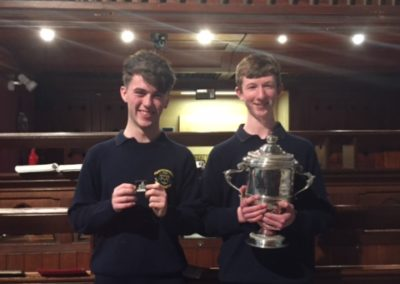 Senior Organ 1st and 2nd Prizewinners 2016