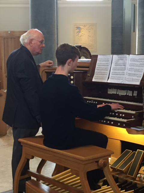 Organ Masterclasses with Professor Gerard Gillen (February/March 2016)