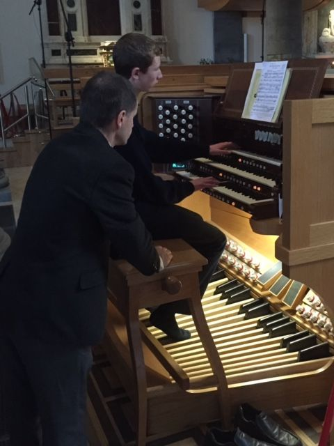 Organ and Choral Workshop with Dr John O'Keefe (November 2015)