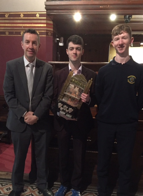 Alan Fagan – winner of the Advanced Organ competition at Feis Ceoil 2018