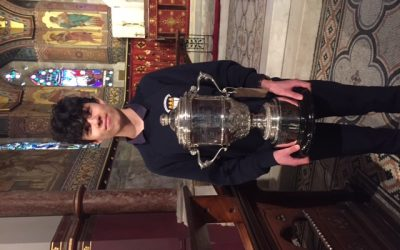 Faolan Ly – Winner of the Senior Organ competition at Feis Ceoil 2018