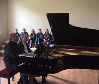 Stunning Lunchtime Piano Duet Recital at St Finian's