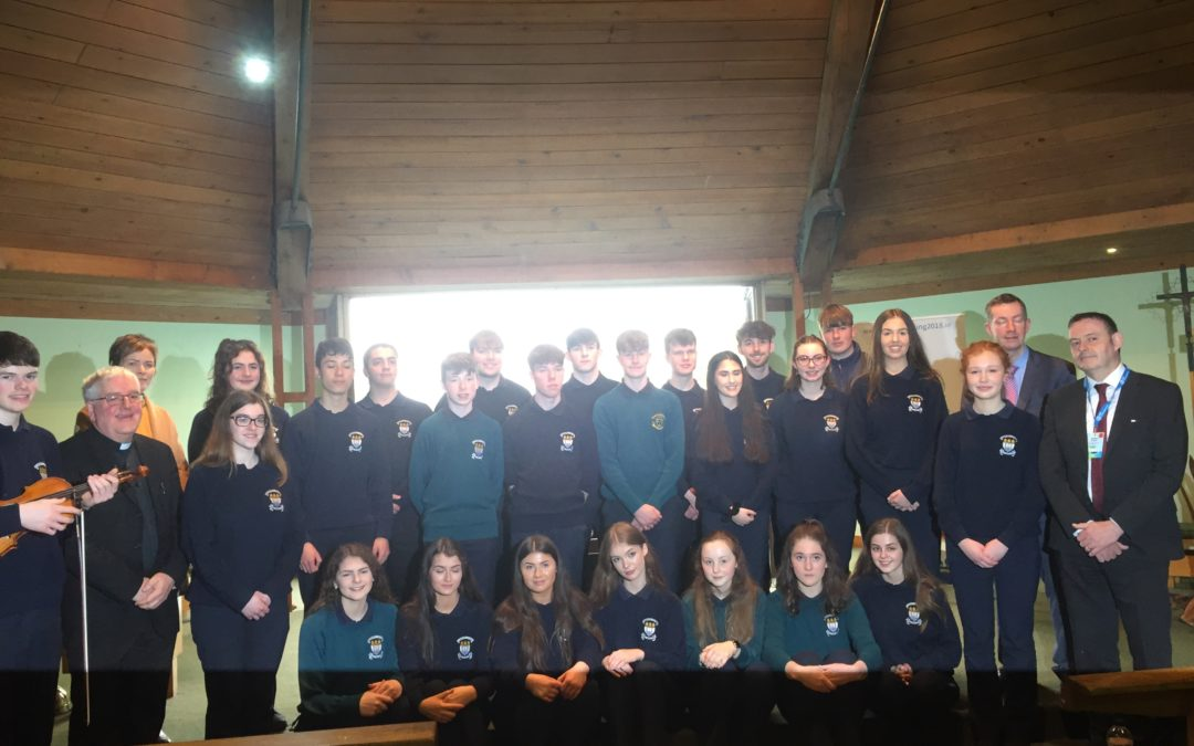 Schola Choir perform at JMB Principal's Conference in Killarney